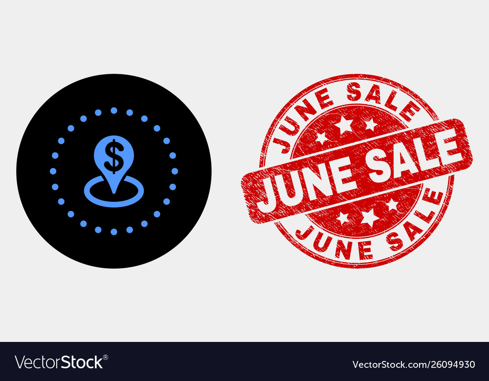 Bank placement icon and distress june sale
