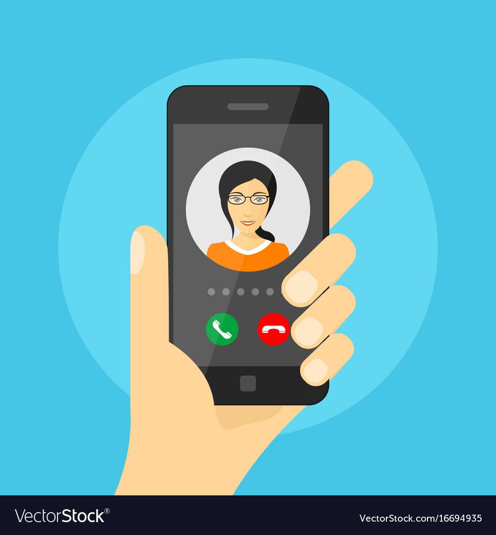 Incoming phone call