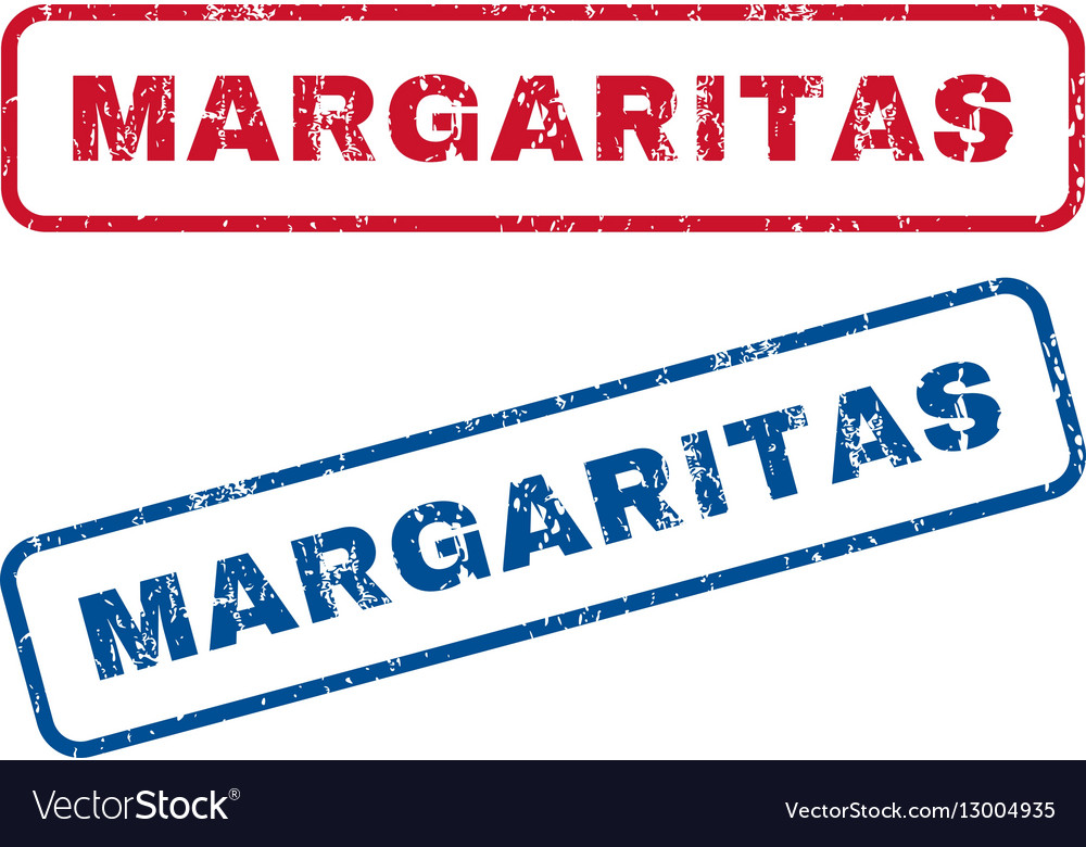 Margaritas Rubber Stamps