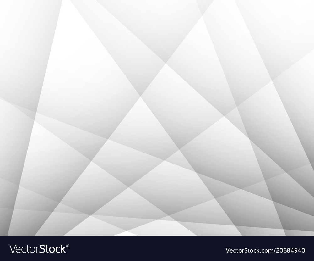 Grey geometric technology background modern vector image