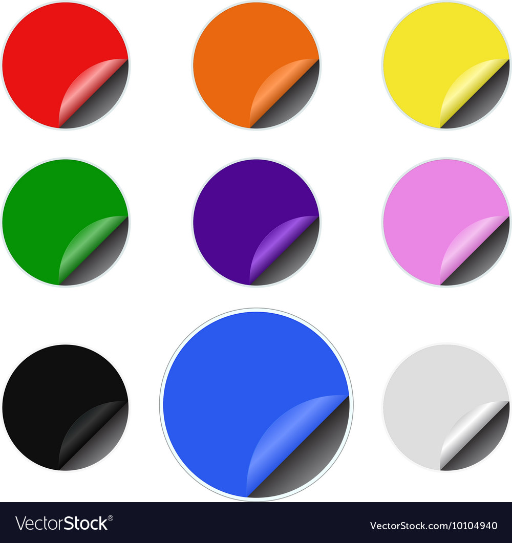 photograph relating to Printable Round Stickers titled Infographic template spherical stickers