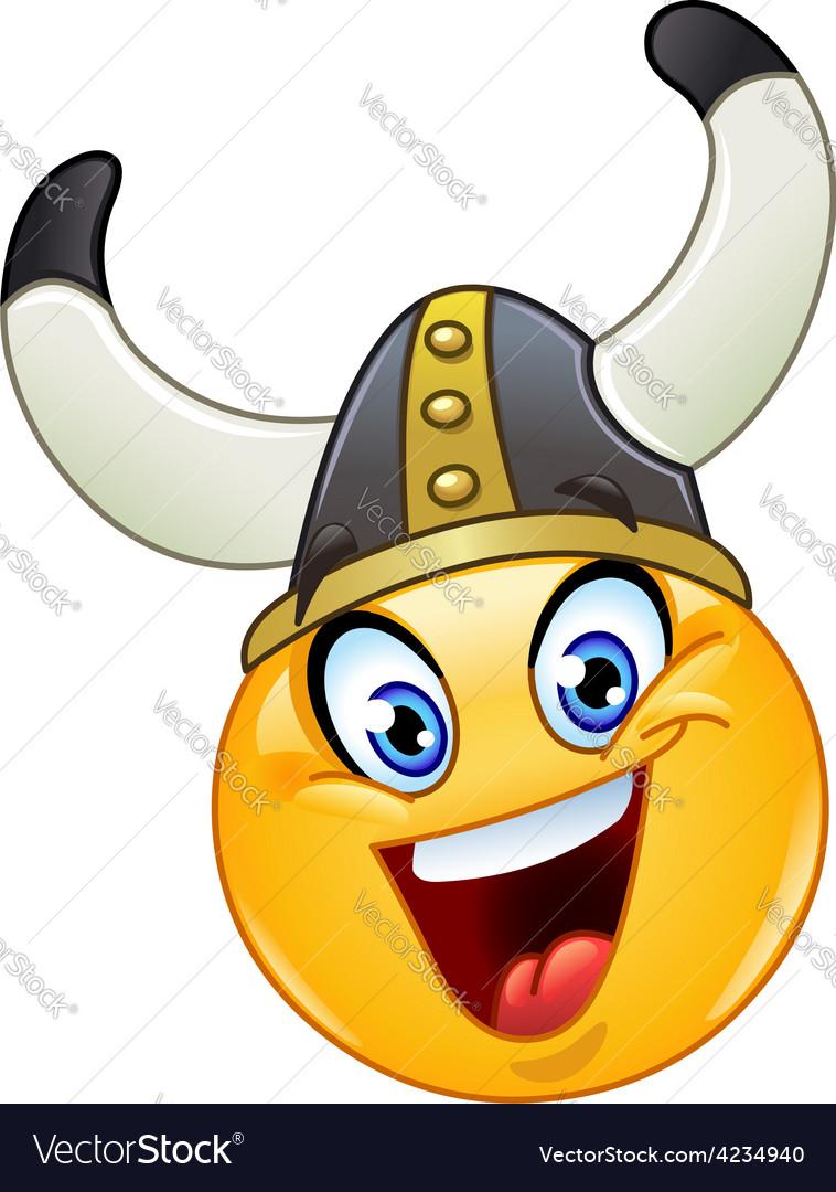 Viking emoticon