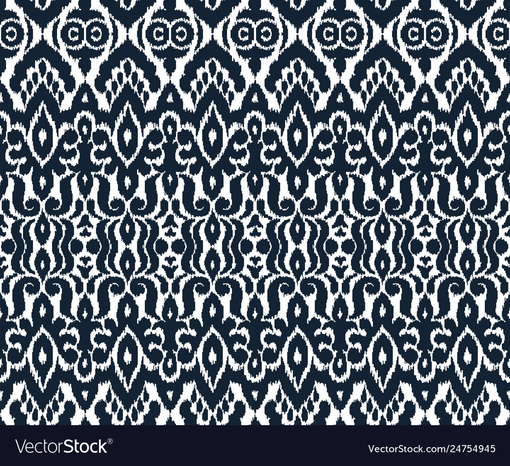 Abstract seamless pattern in ethnic style
