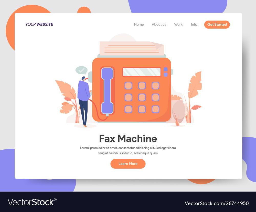 Fax machine concept