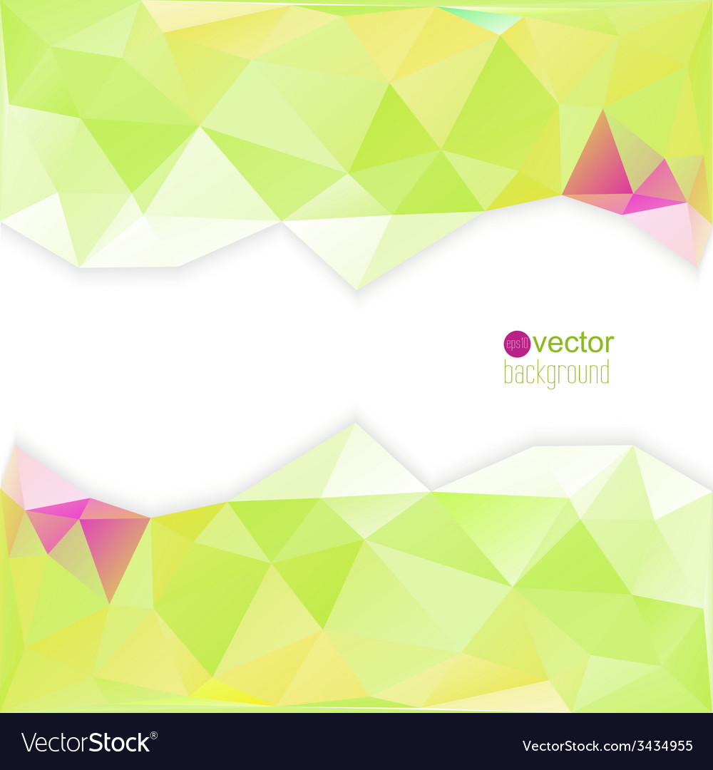 Abstract template for modern design vector image