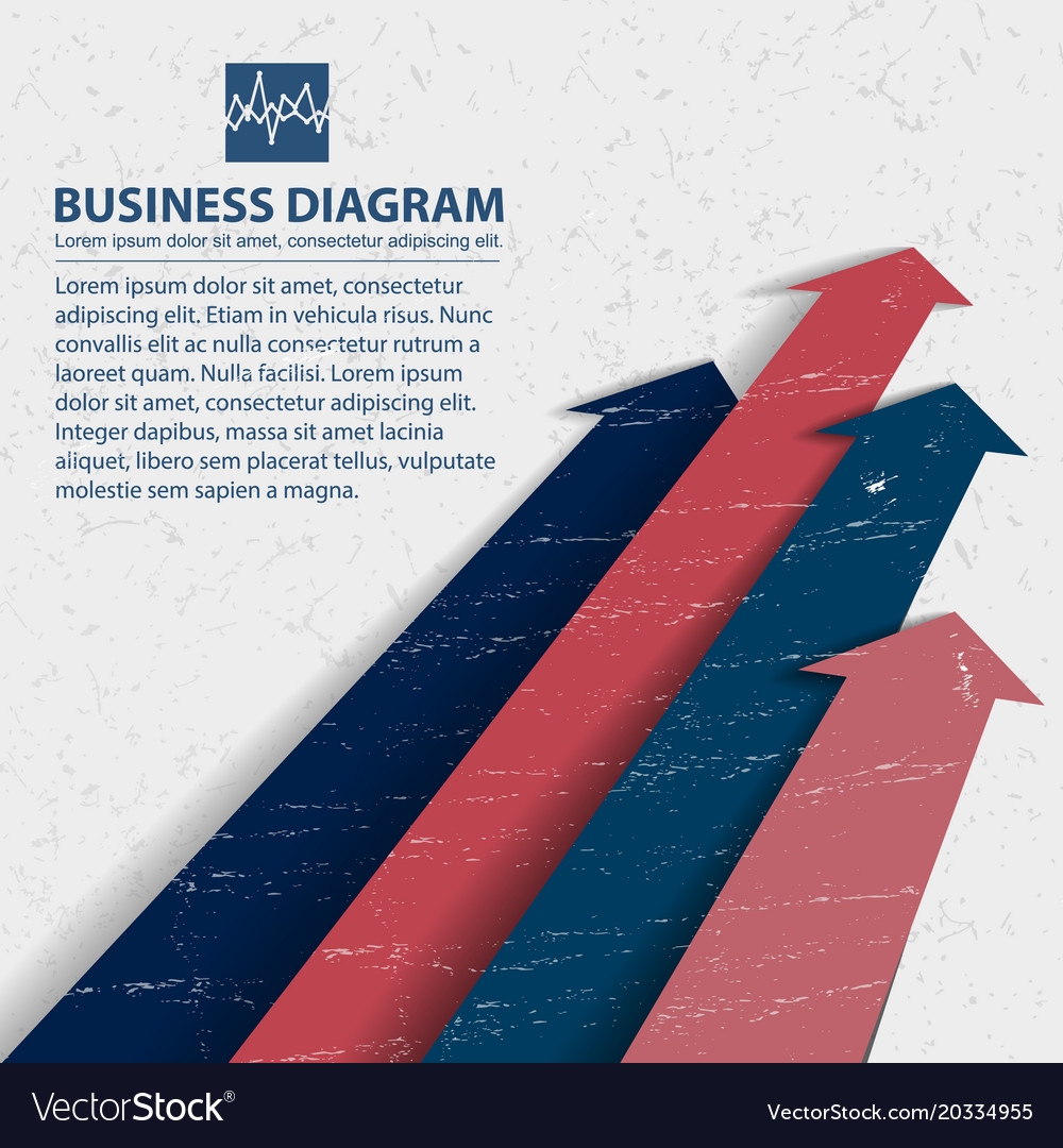Business diagram background
