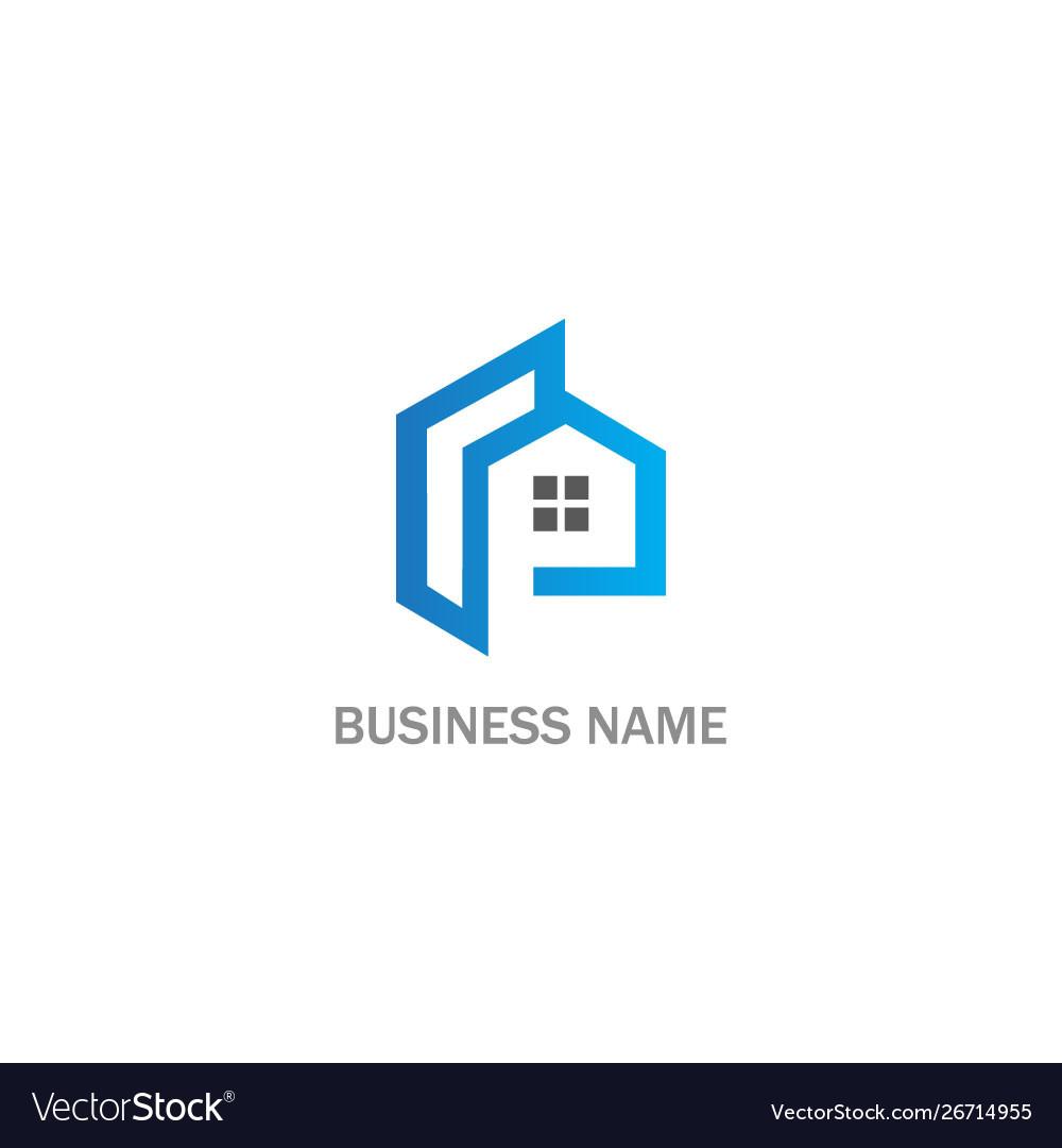 House realty business company logo