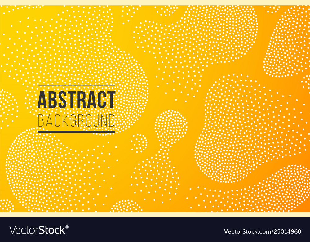 Fluid shapes with dots texture background