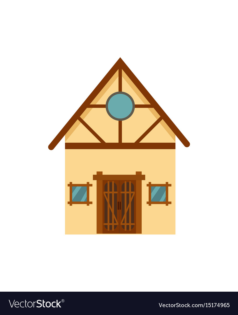 Family house isolated icon