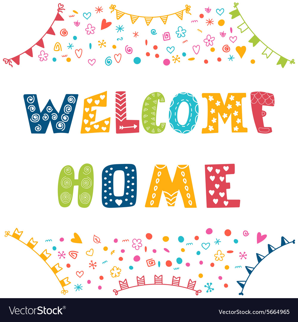 Amazing Welcome Home Sign Ideas Vignette - Home Decorating ...