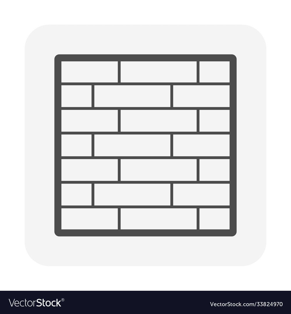 Brick wall or architectural decoration material