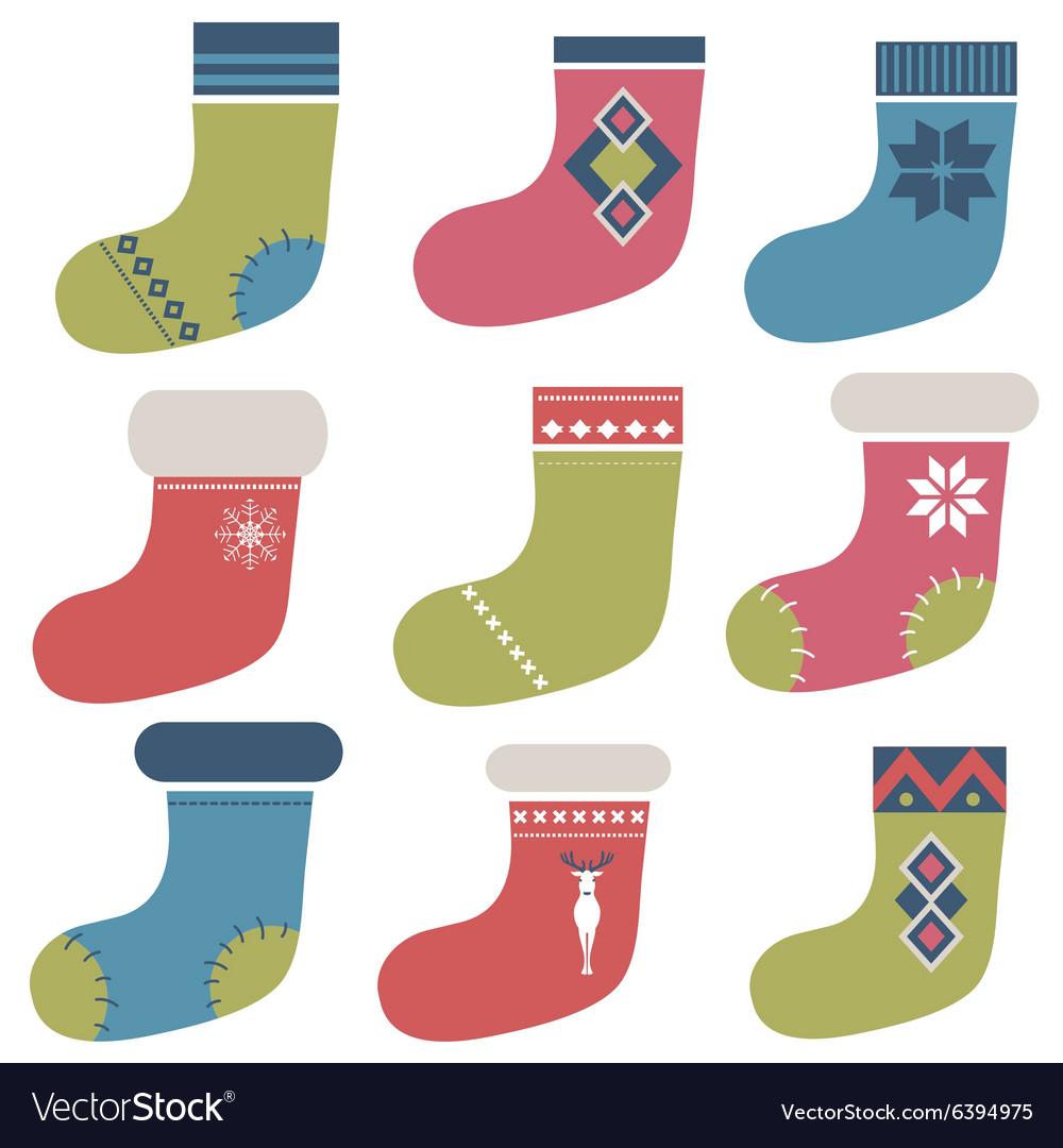 Christmas winter colorful socks
