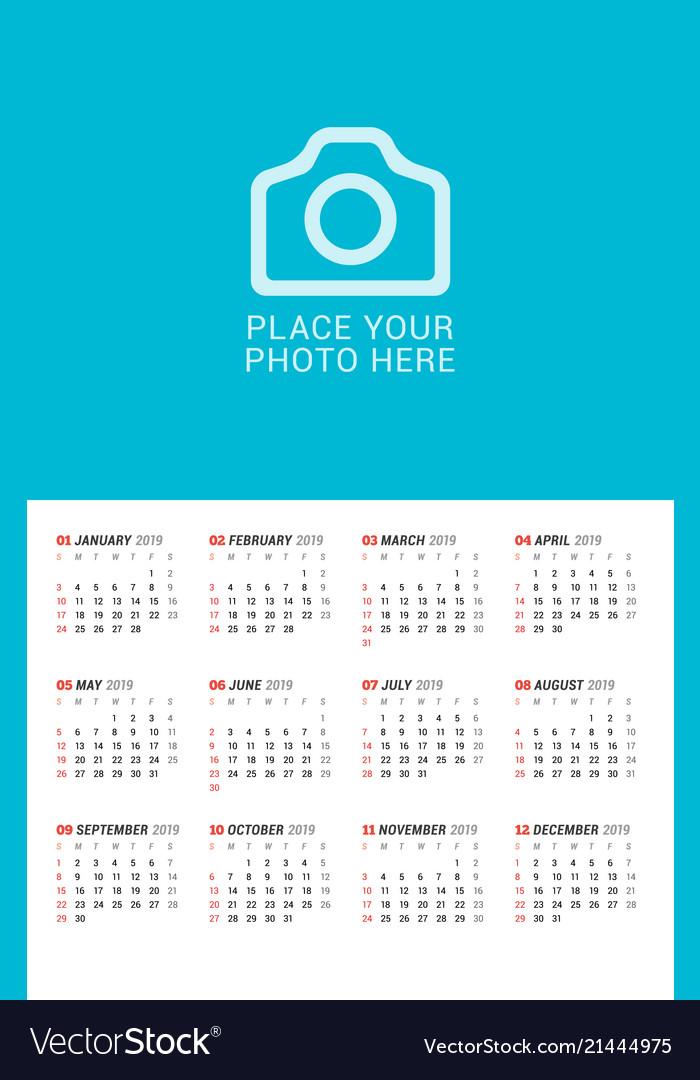 poster calendar template - Ataum berglauf-verband com