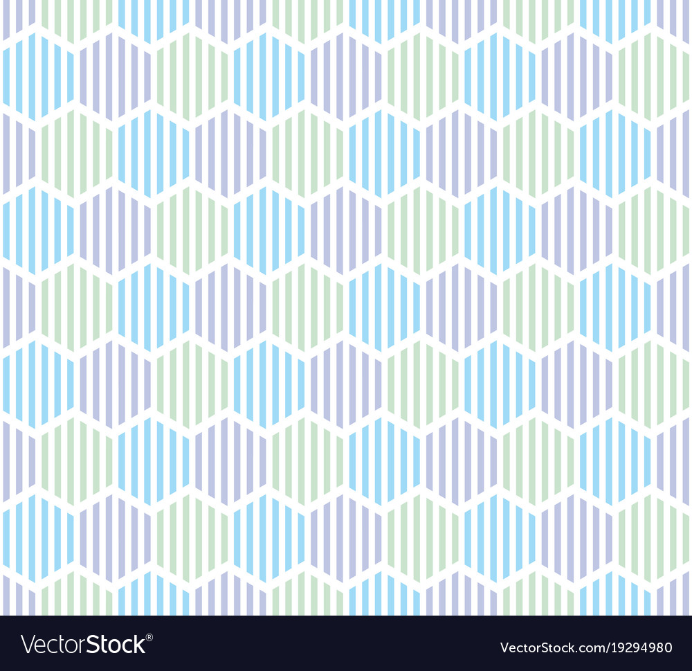 The simple summer pattern with stripes vector image