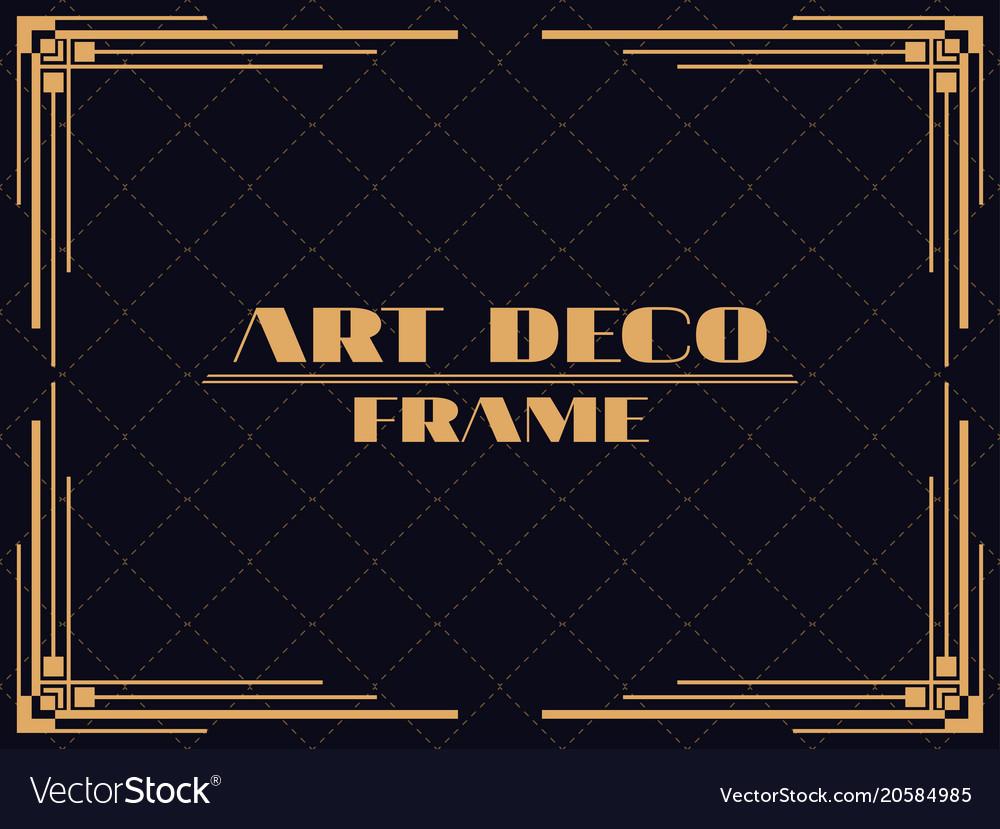 Geometric Monochrome Minimal Vintage Art Deco Vector Hipster