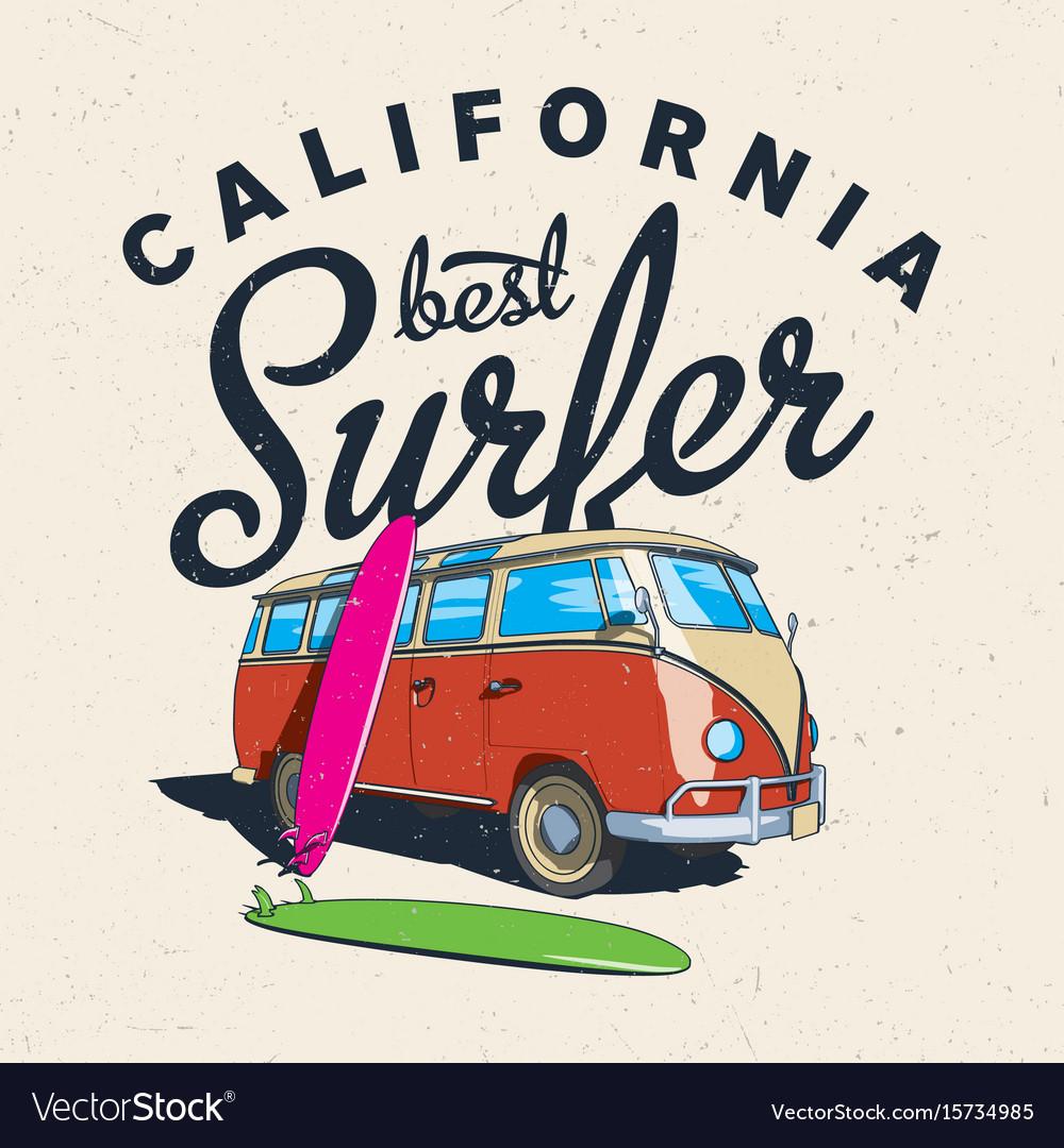 California best surfer poster