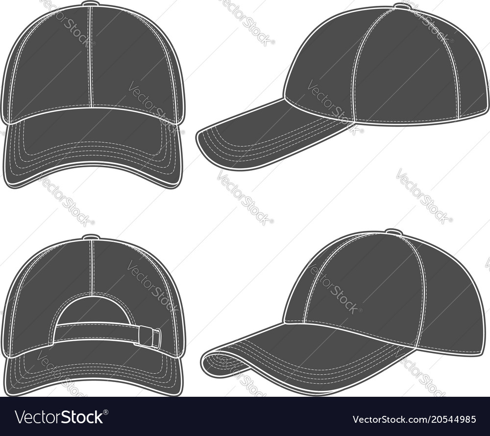 Set of with a baseball cap