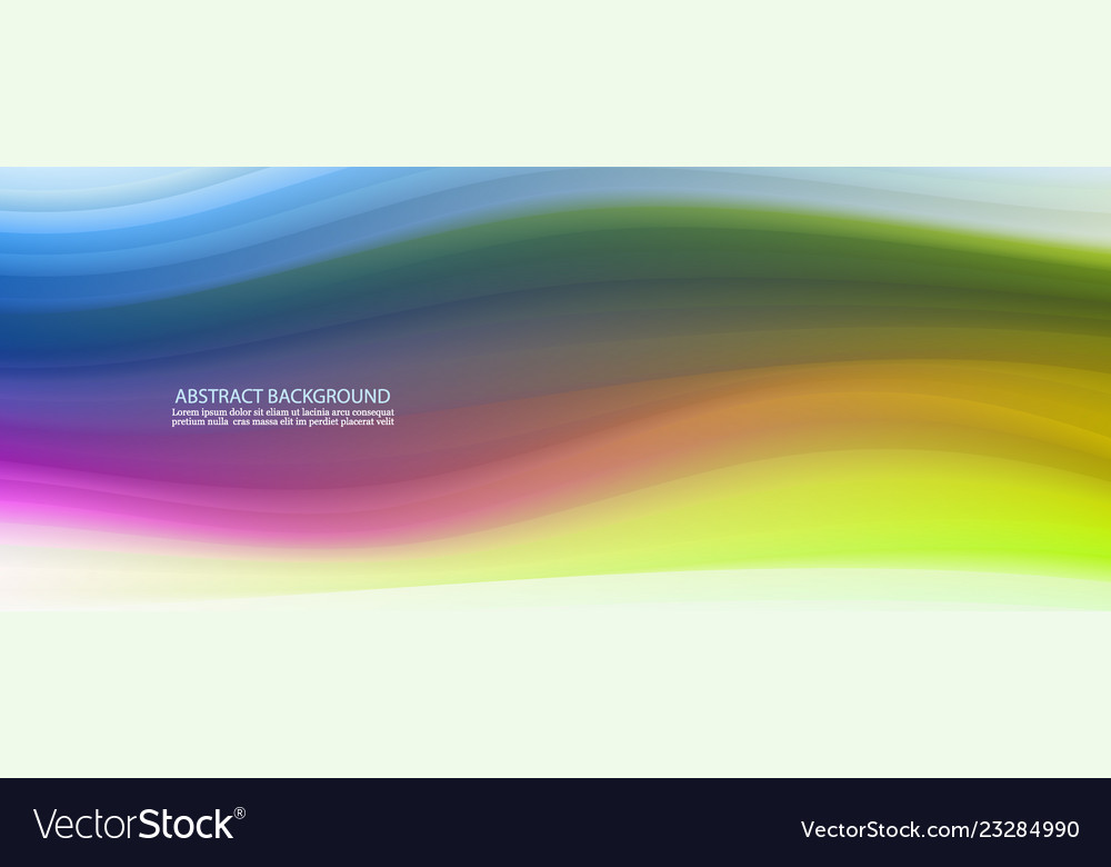 Abstract color background color wavy fluid shapes