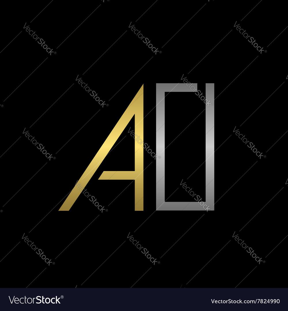 AO letters logo
