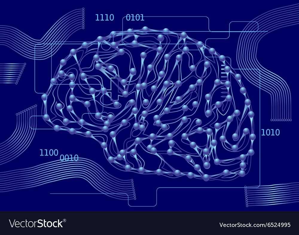 Computer science vector image