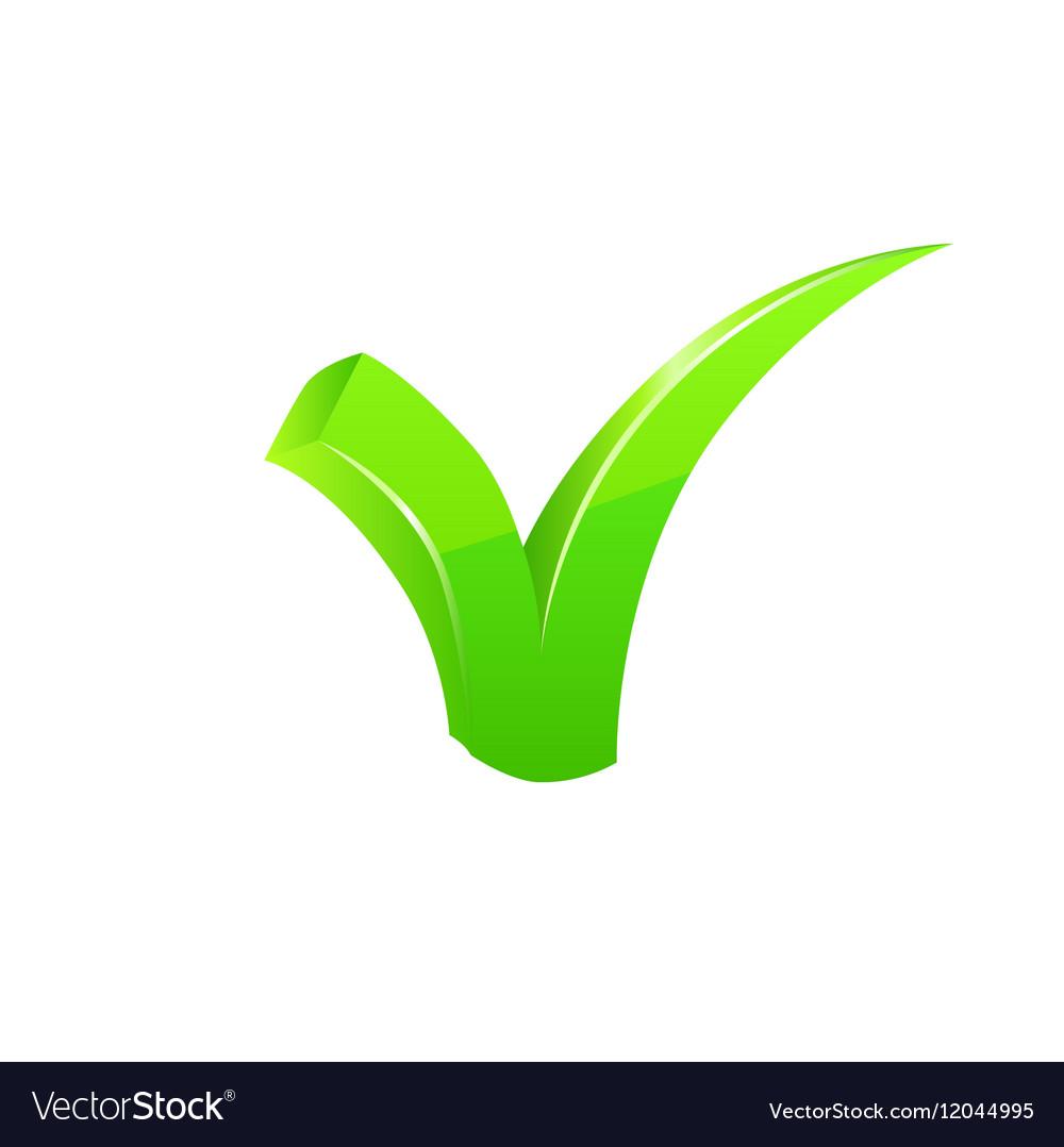 Green checkmark set