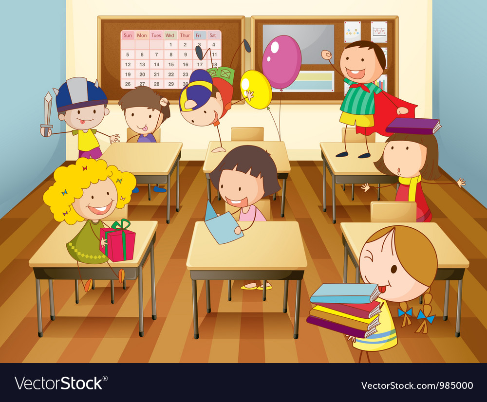 Картинка класса в школе с учениками смешные