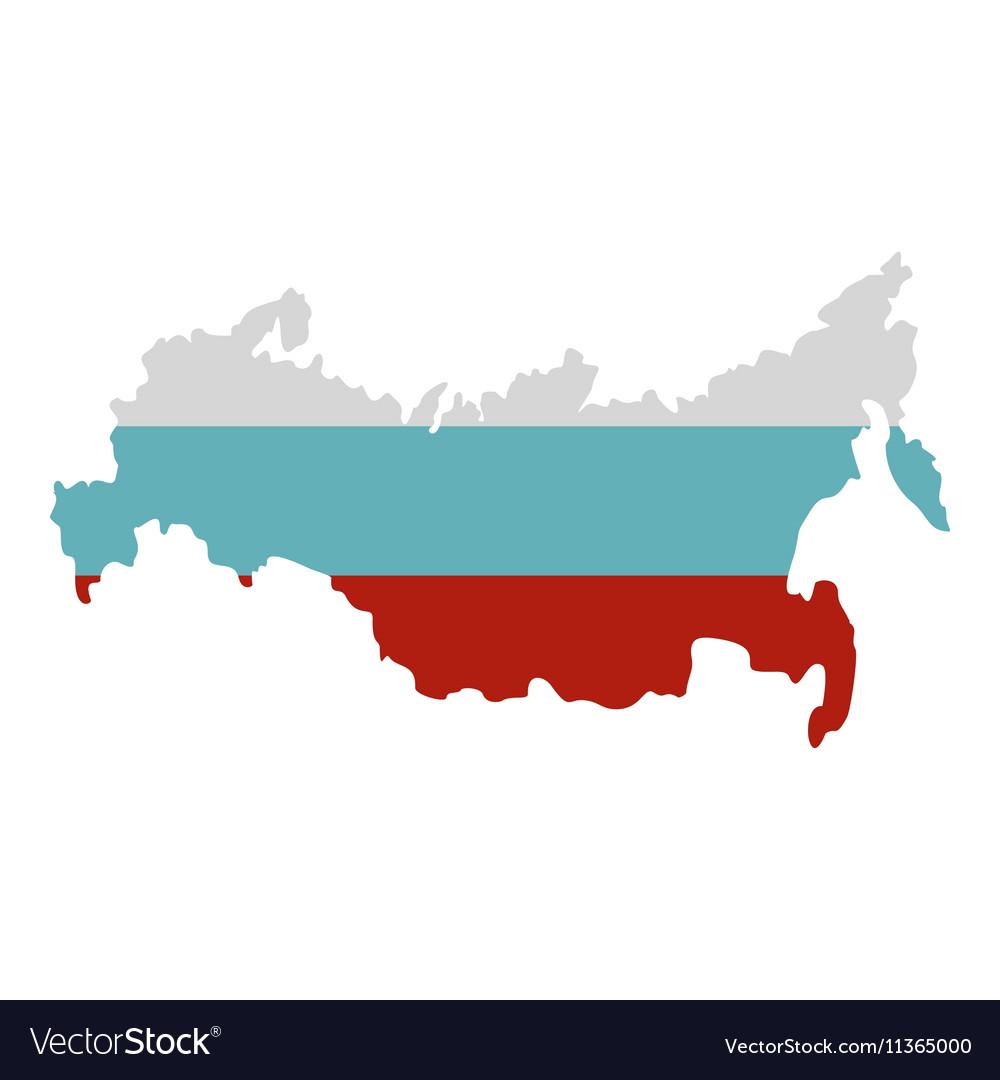 Russia map icon flat style on flat united states map, flat eurasia map, flat great britain map, flat country map, flat europe map, flat us map, flat africa map, flat world maps,