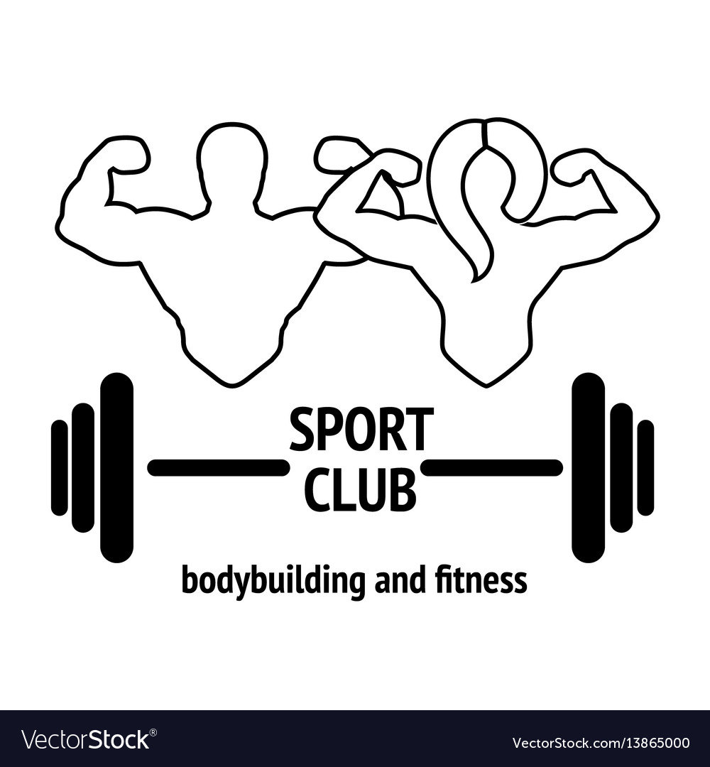 Sport or fitness club emblem