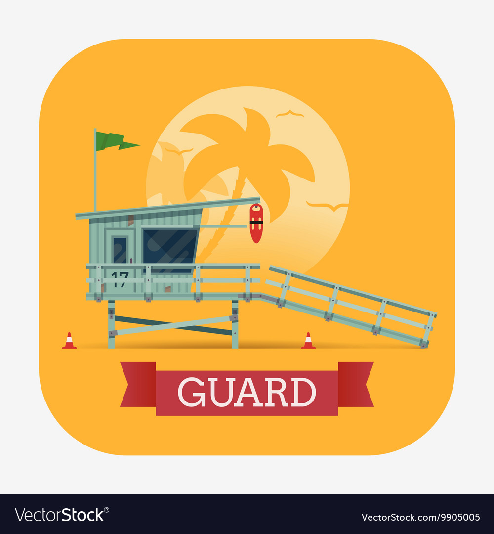 Beach Lifeguard Shack