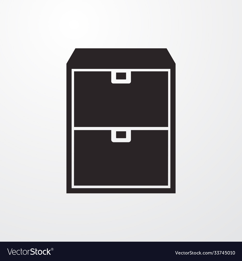 Cupboard icon for web and mobile