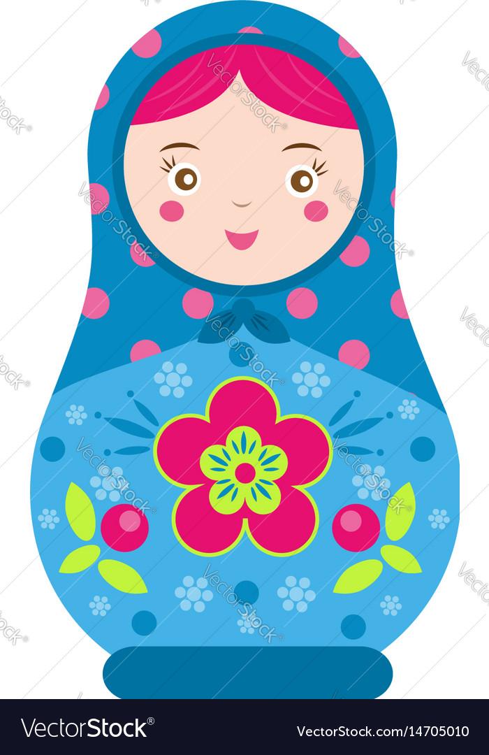 Matryoshka traditional russian nesting doll