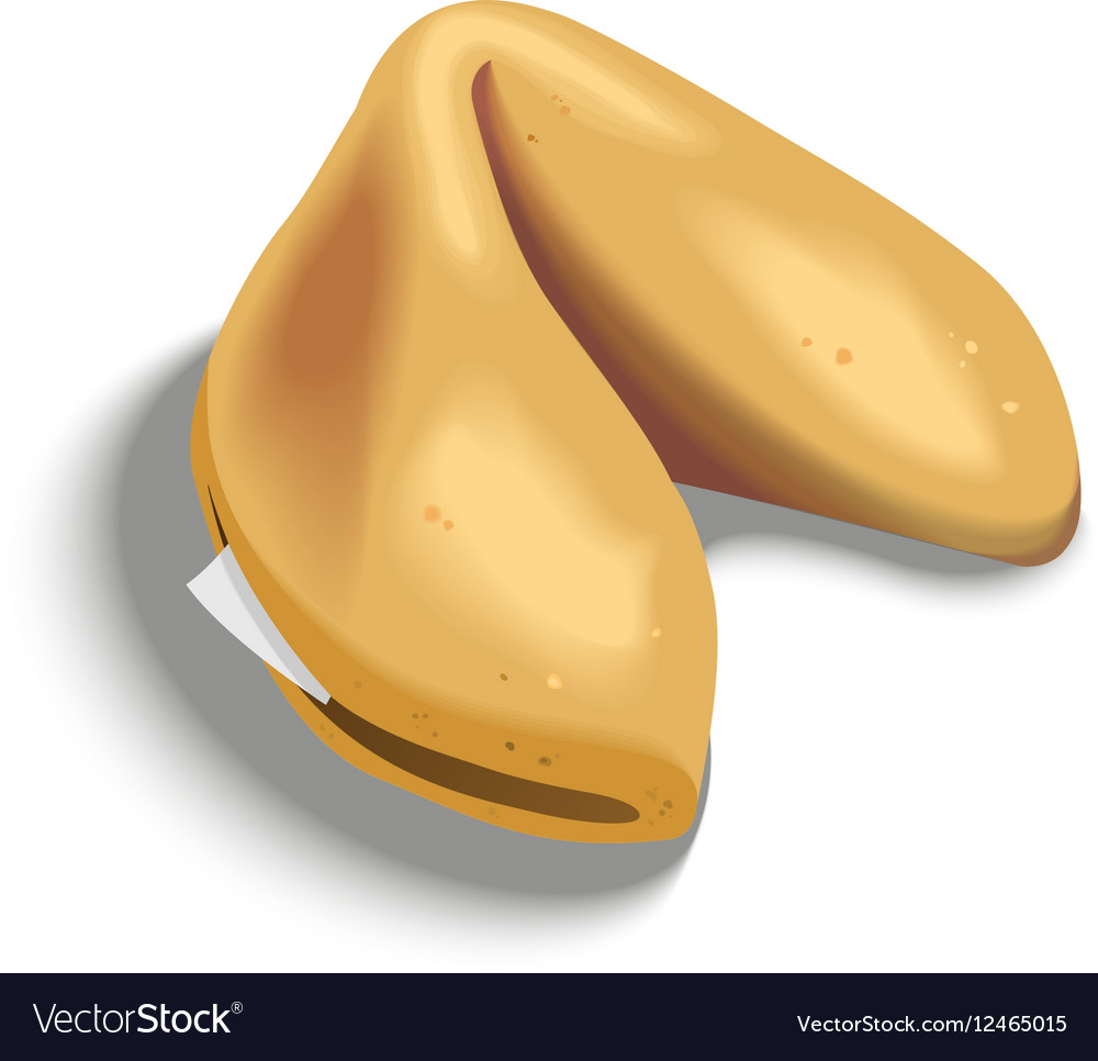 Fortune Cookie vector image