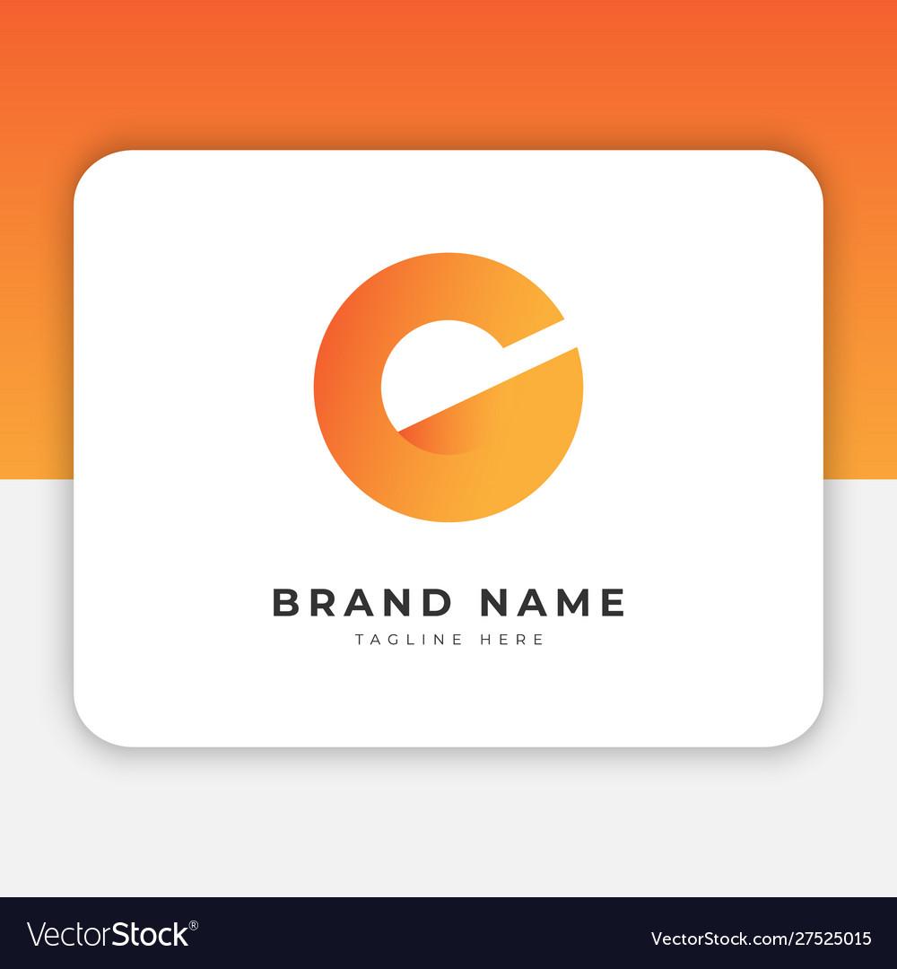 Initial c logo design inspiration