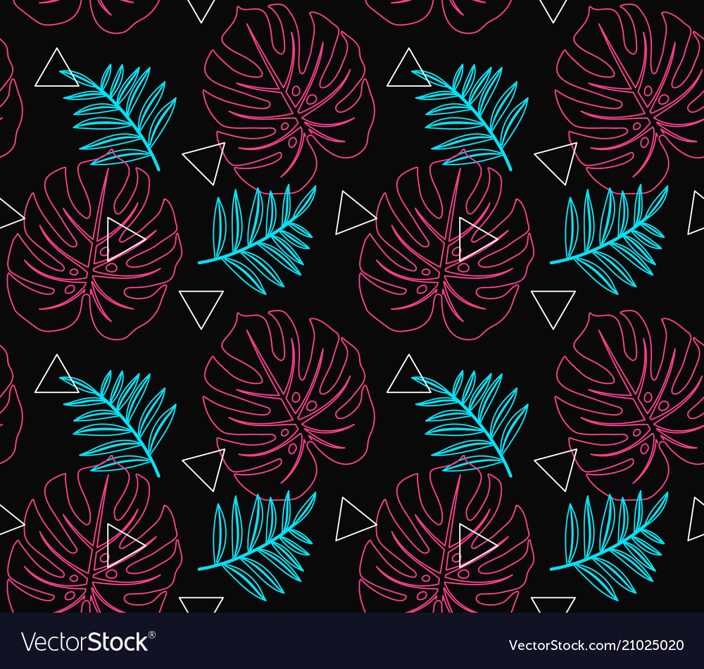 Abstract modern trendy style hipster vector image