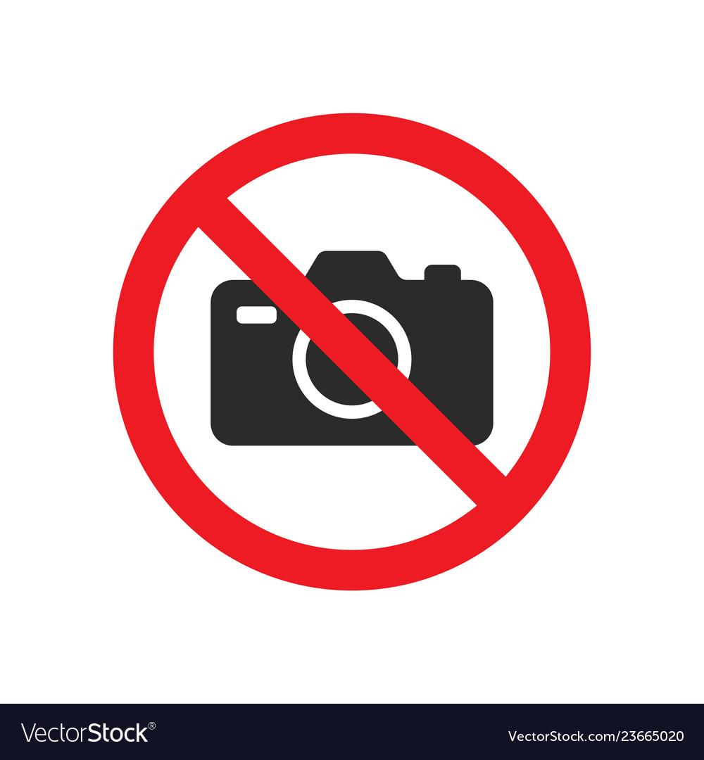 No photography sign image