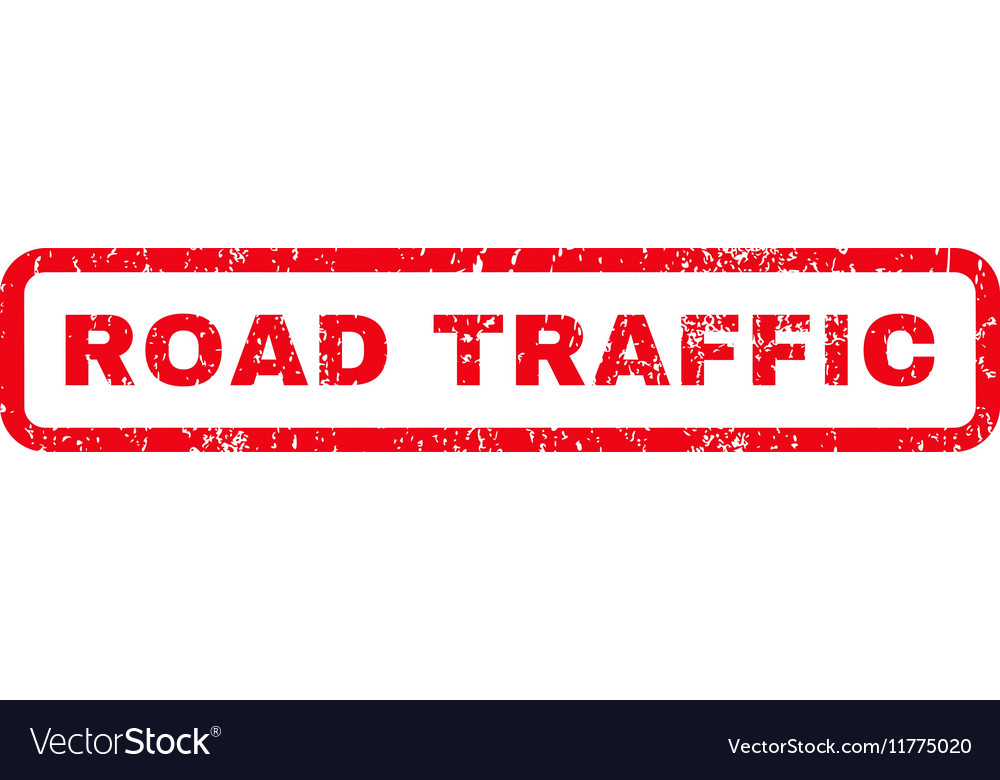 Road Traffic Rubber Stamp