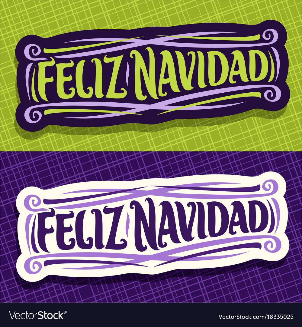 Merry christmas in spanish language