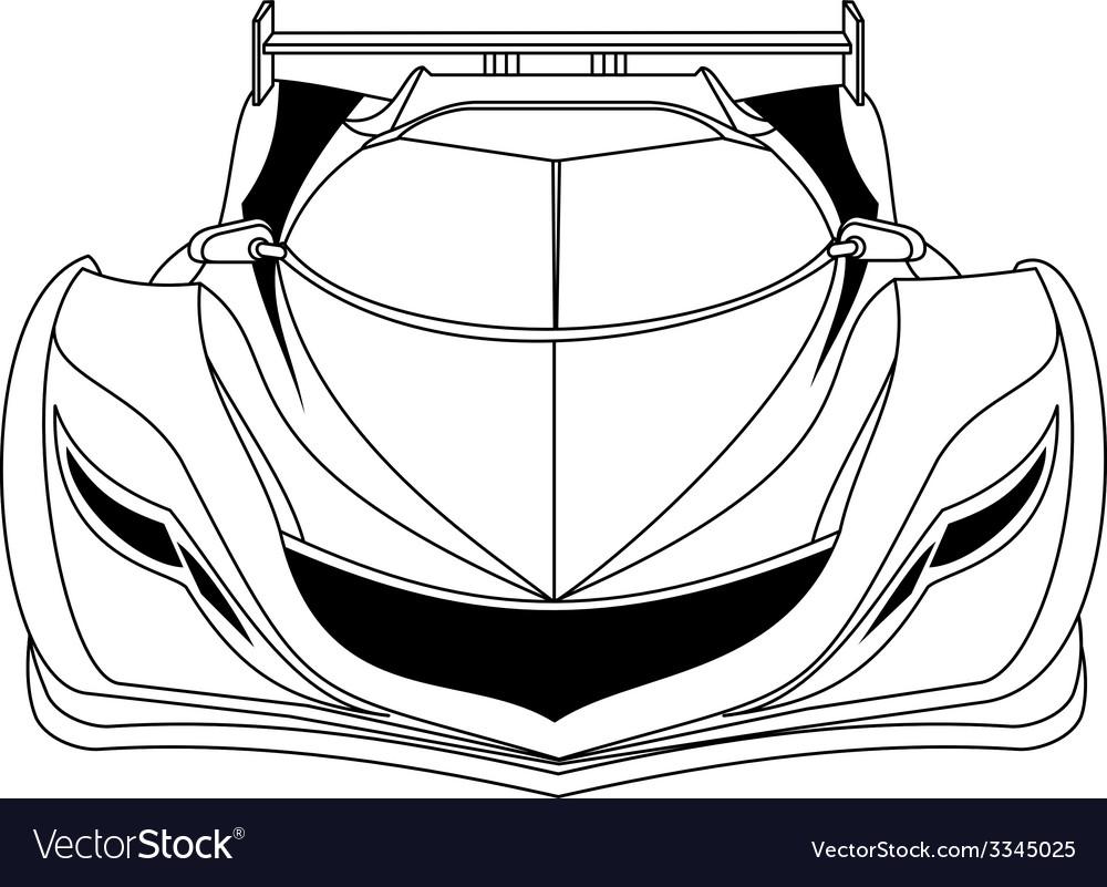 Modern car