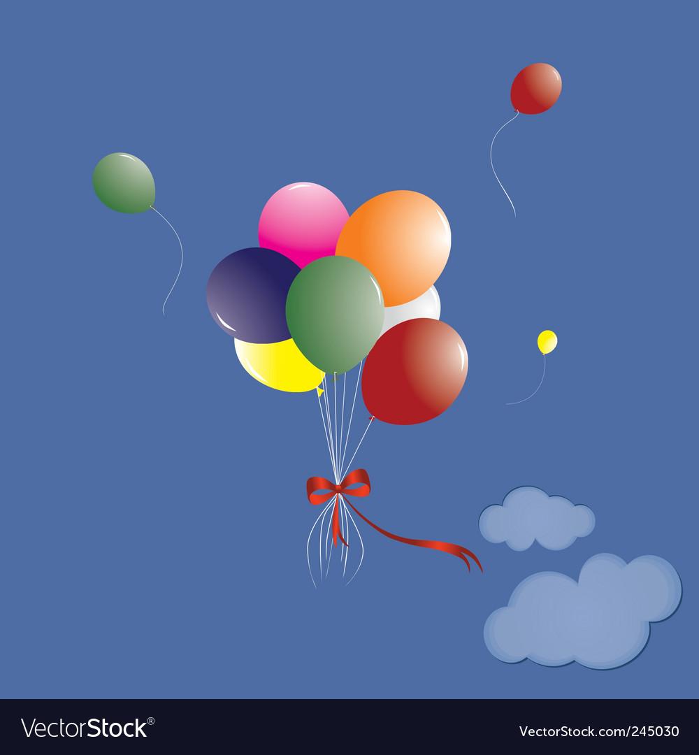 Manycoloured balloons