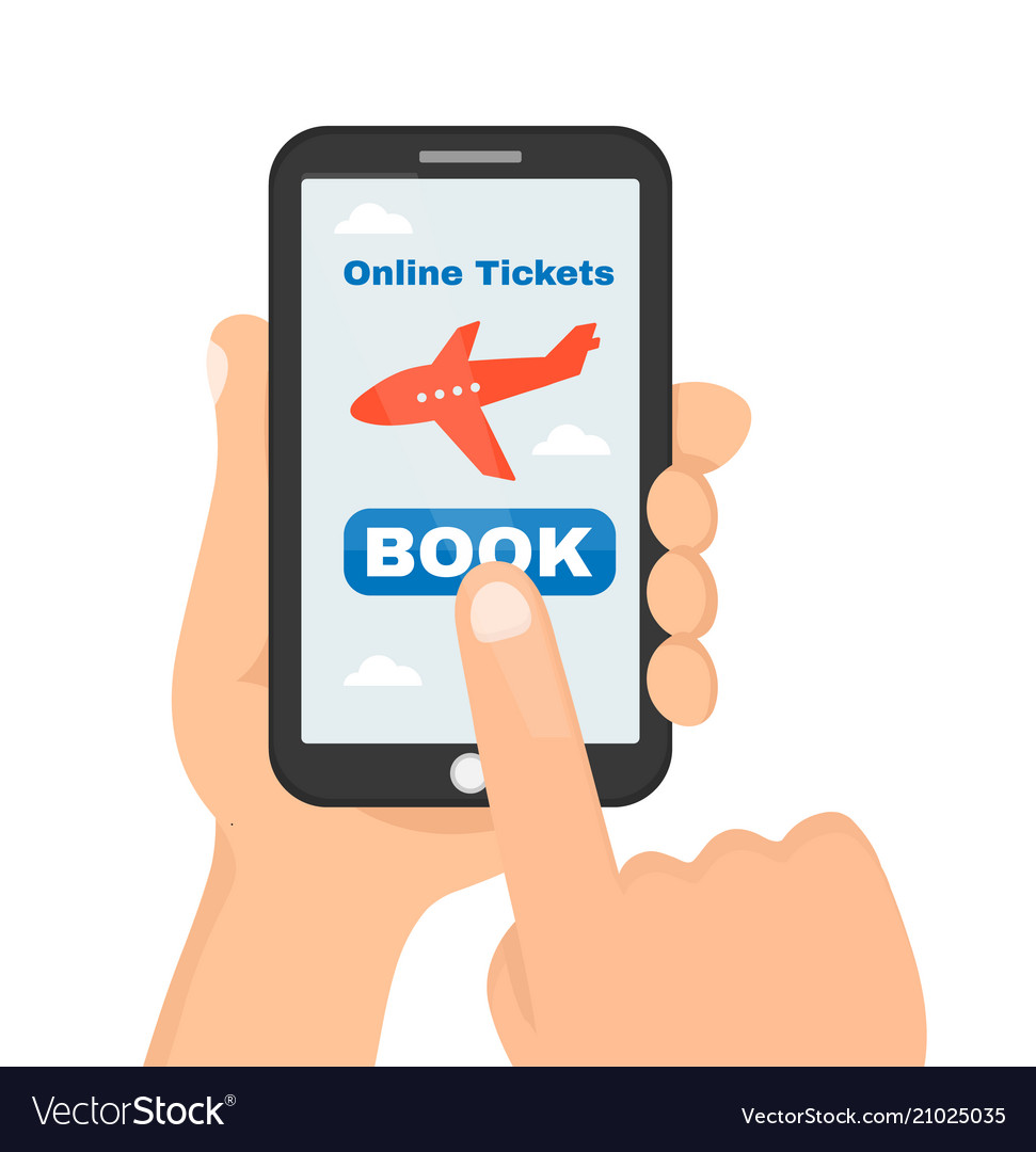 Buying or booking online airline tickets
