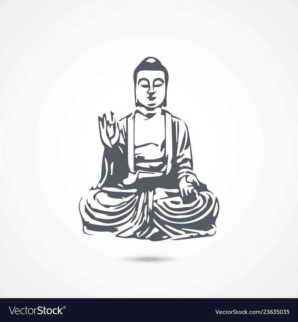 Chinese buddha icon