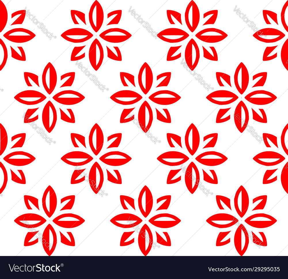 Flowers pattern for textile industry