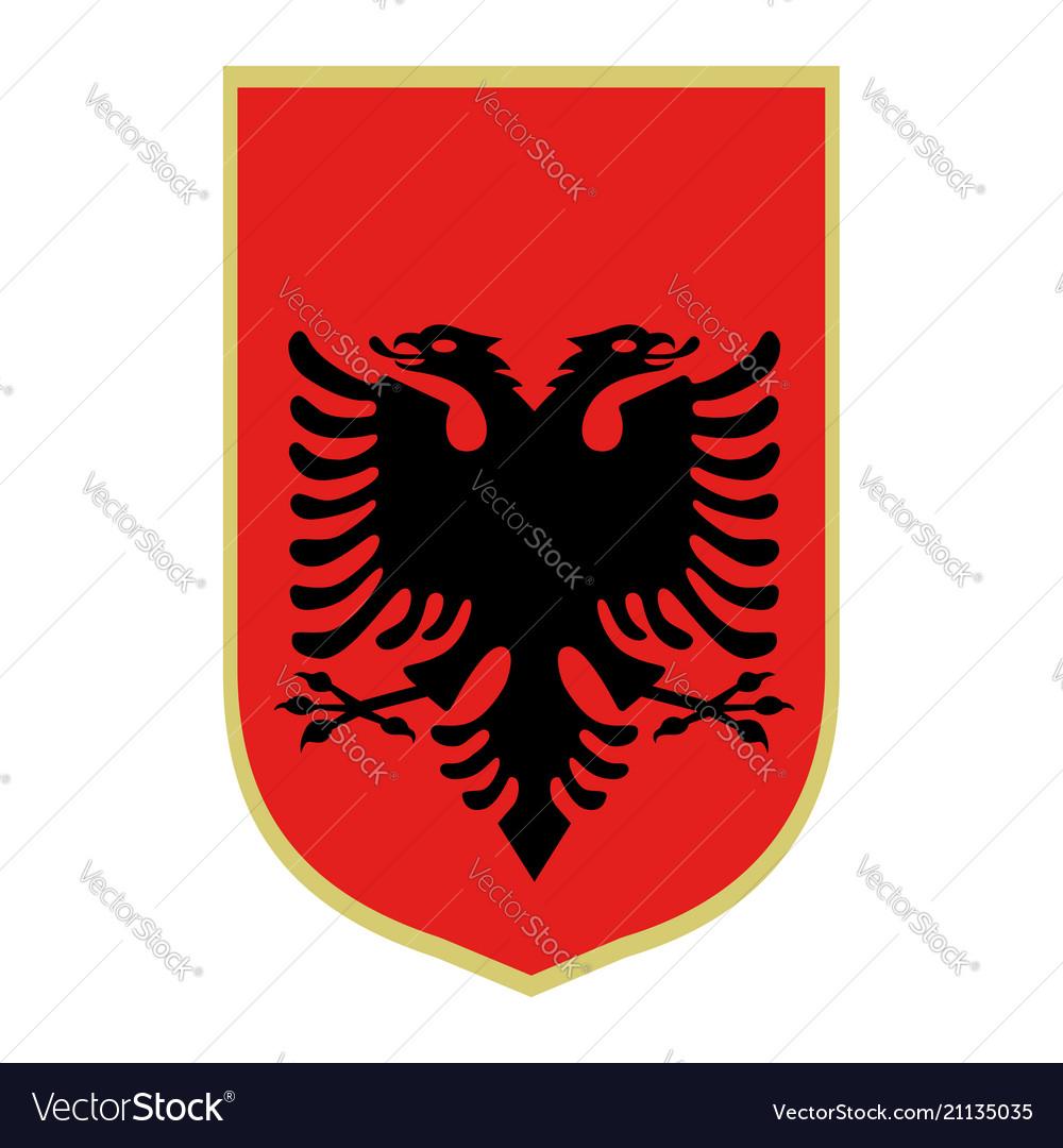 Symbol albania national emblem