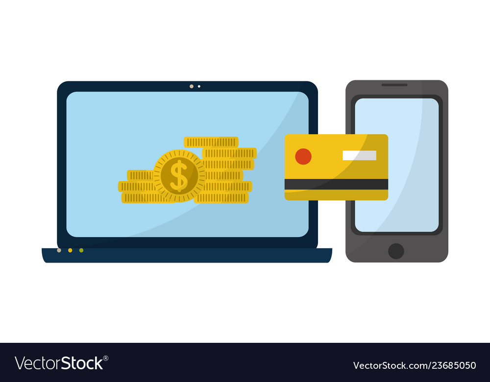 Money Transfer Royalty Free Vector Image