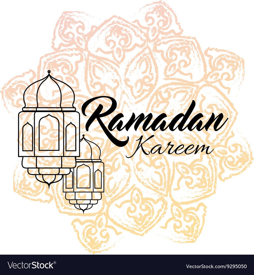 Ramadan kareem and Ramadane