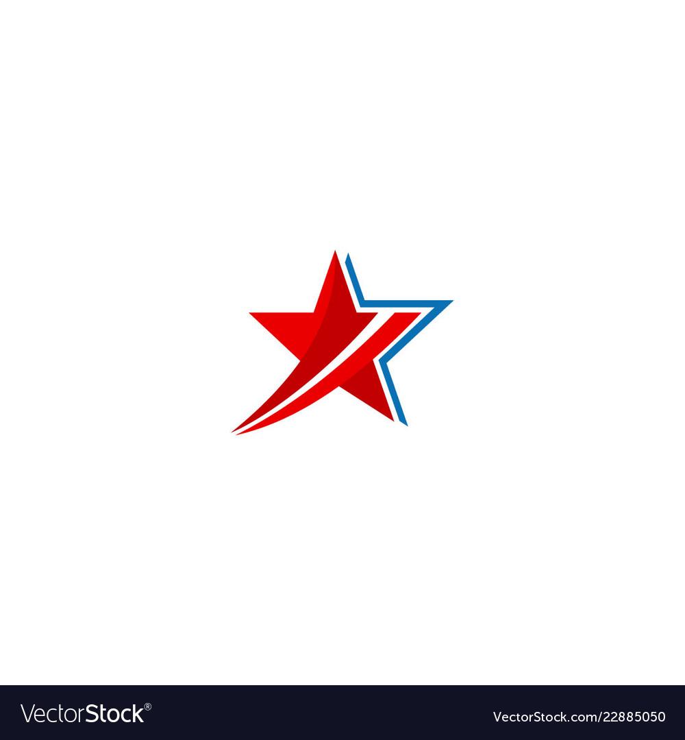 Star sign design company logo