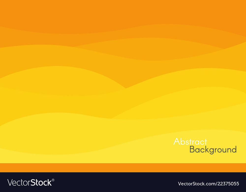 Abstract yellow and orange background bright