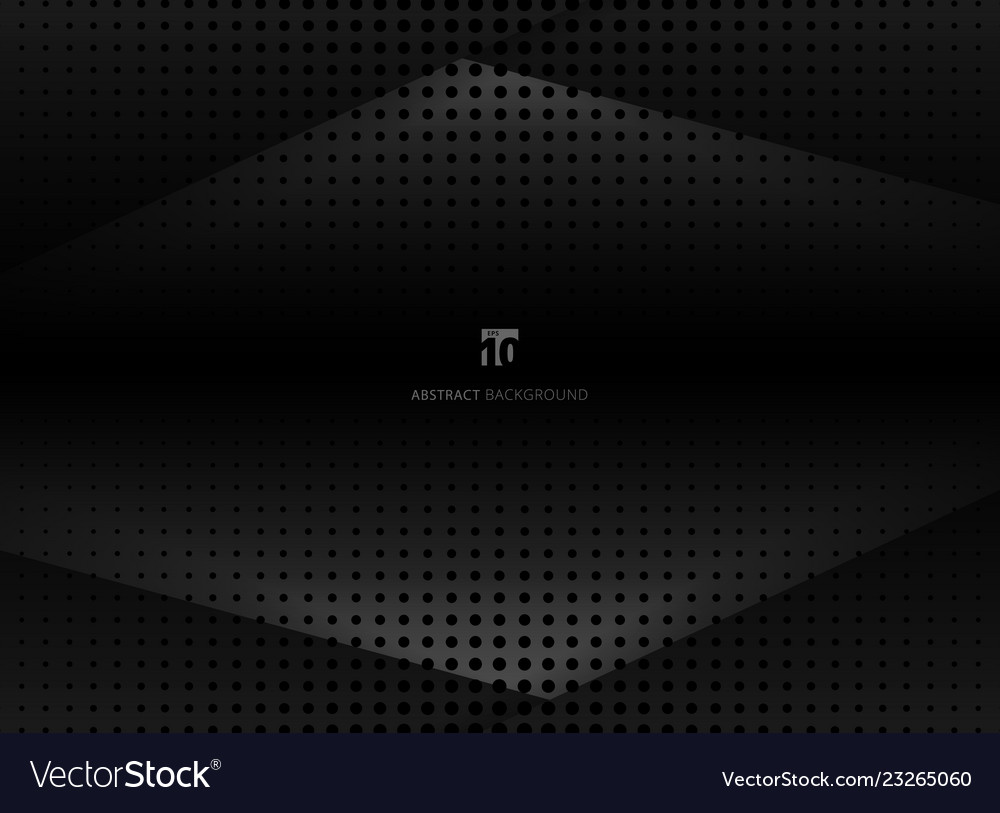 Abstract design halftone black and gray background