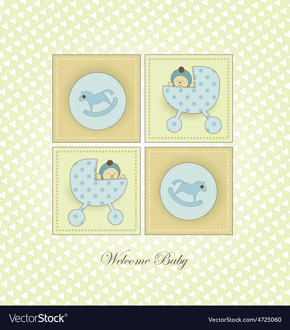Sweet Welcome Baby Card