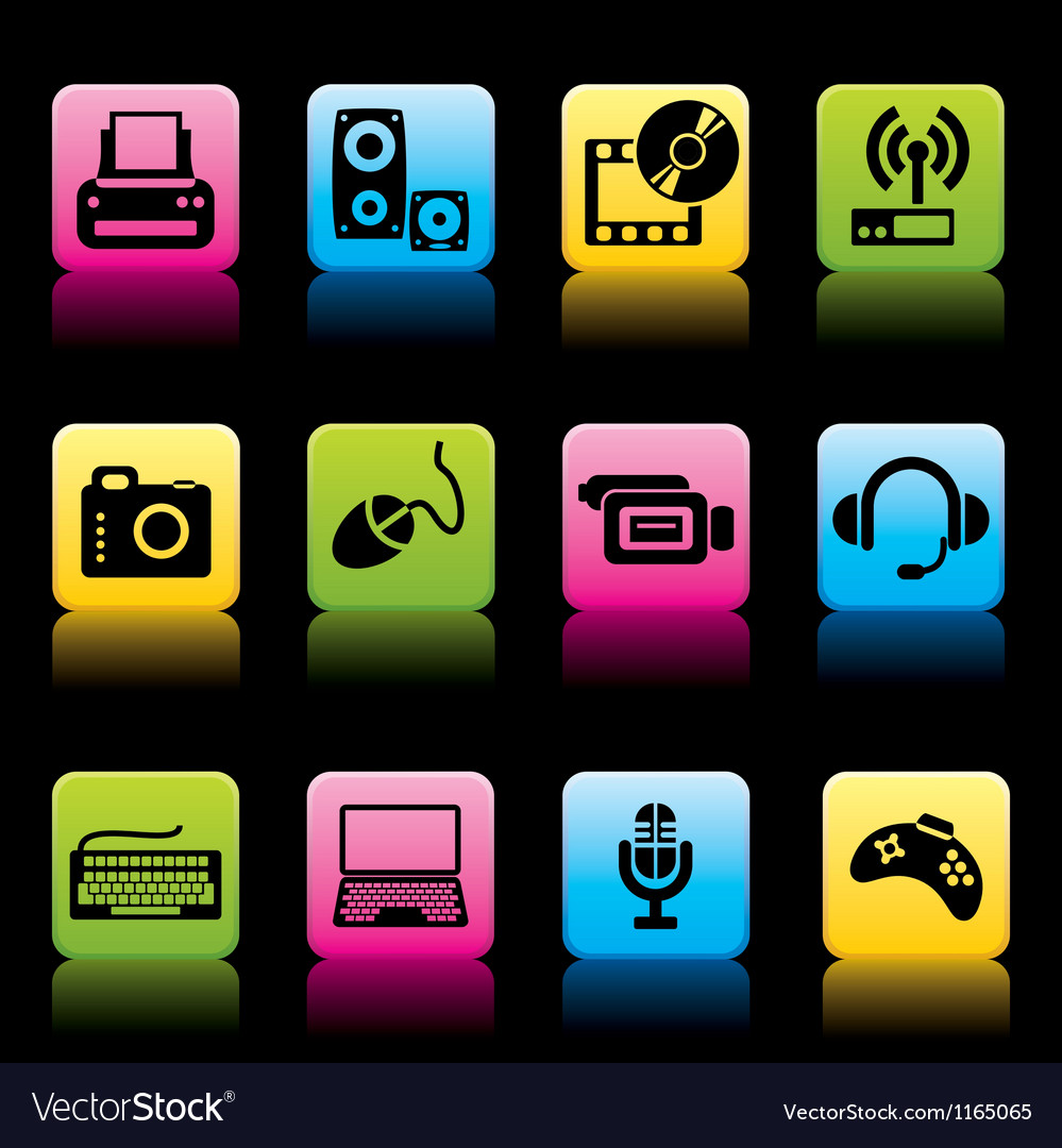 Devices icons color